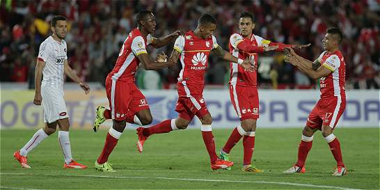 Santa Fe está en la semifinal de la Copa Suramericana