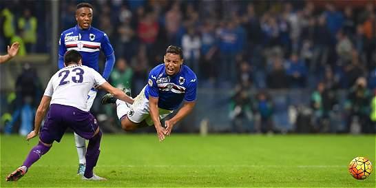 Con Carbonero y Muriel 90 minutos, Sampdoria perdió 0-2 con Fiorentina