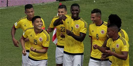 Selección Colombia cierra el año como octava del mundo según la Fifa