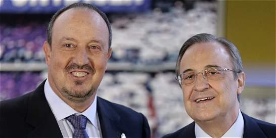 Florentino Pérez ratifica a Rafael Benítez como DT del Real Madrid