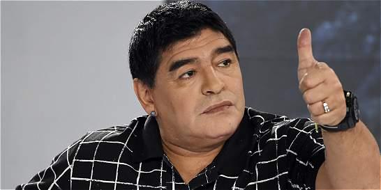 Diego Maradona perdió seis kilos y su evolución es 'satisfactoria'