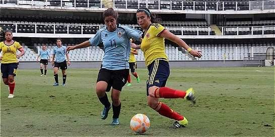 Colombia superó 4-0 a Uruguay en el Suramericano femenino Sub-20