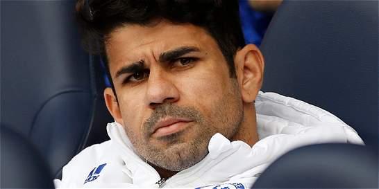 Diego Costa explotó contra Mourinho por dejarlo sin jugar