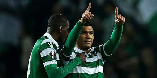 Teófilo regresó con gol en la victoria de Sporting sobre Besiktas