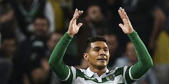 'Teo' Gutiérrez jugó 88 minutos en el 3-1 de Sporting sobre Moreirense
