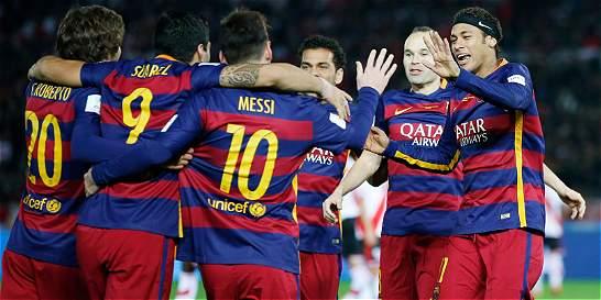Barcelona ganó 3-0 a River Plate y logró su tercer Mundial de Clubes