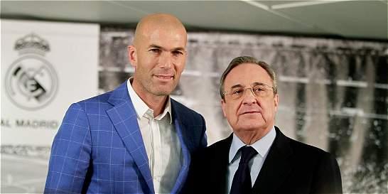 'Para Zidane la palabra imposible no existe': Florentino Pérez