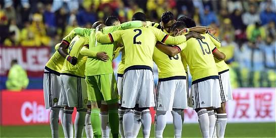 Colombia se mantiene en el octavo puesto del escalafón Fifa