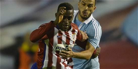 Jackson Martínez, posible titular para enfrentar al Rayo en la Copa