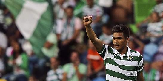 Después de tres semanas, Teo Gutiérrez regresó a Lisboa