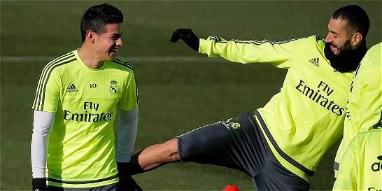 ¿Lesión de Bale le da mayor opción a James para ser titular?
