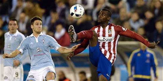 Con Jackson, Atlético empató con Celta en la ida de cuartos de la Copa