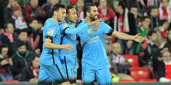 Barça se acerca a 'semis' de la Copa del Rey: venció 1-2 al Athletic