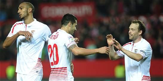 Sevilla encaminó su pase a las semifinales de Copa del Rey