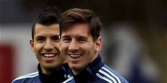 'Le dije a Messi que Manchester es el sitio ideal para jugar': Agüero