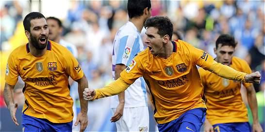 Barcelona sufrió pero al final le ganó 1-2 al Málaga