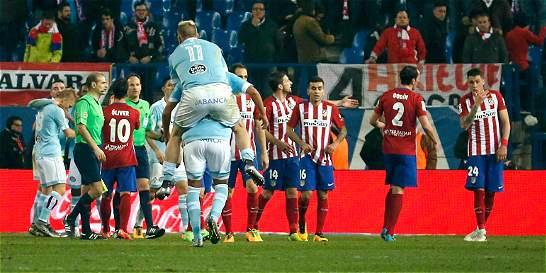 Celta dio el golpe en la Copa del Rey: eliminó a Atlético de Madrid