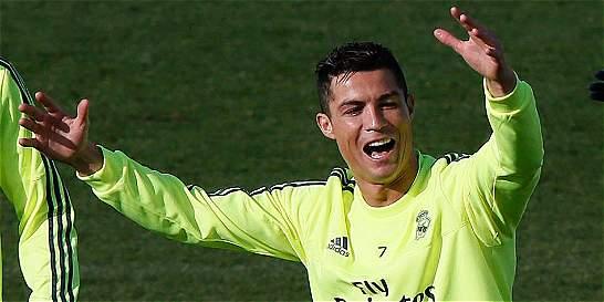 Cristiano Ronaldo volvió a los entrenamientos de Real Madrid