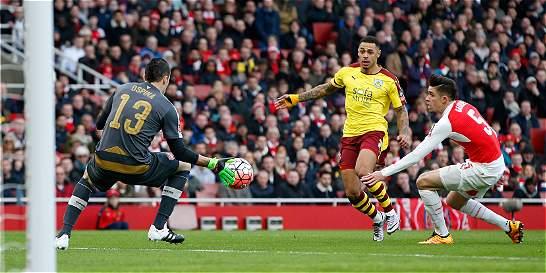Con David Ospina, Arsenal ganó y avanzó en la FA Cup