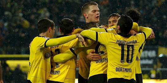 Borussia Dortmund ganó y le mete presión al Bayern Múnich