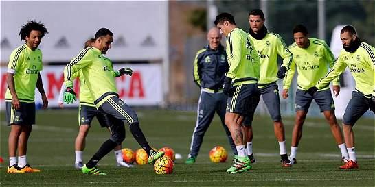 James sería titular nuevamente con Real Madrid contra Español
