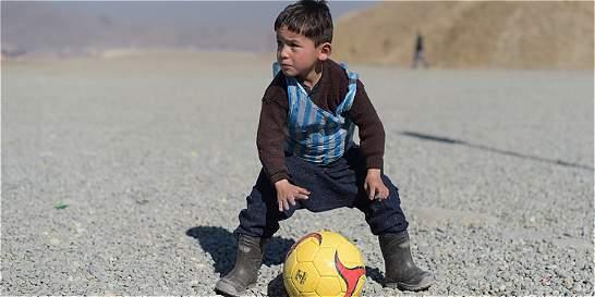 El sueño del pequeño fanático de Messi en Afganistán