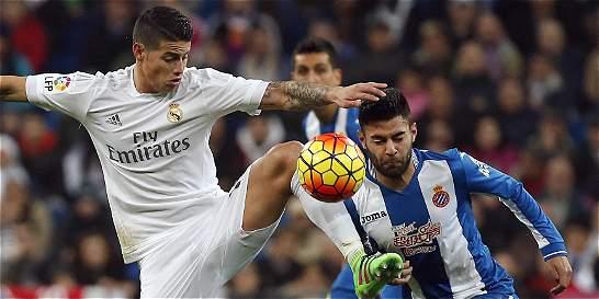 James pelea puesto en la titular con Isco, no con Bale