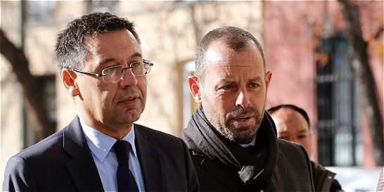 Bartomeu y Rosell ratifican ante juez legalidad del fichaje de Neymar