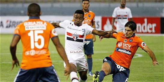 Poderoso São Paulo empató 1-1 con César Vallejo en la Libertadores