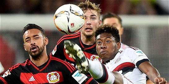 B. Múnich empató con el Leverkusen y conserva ventaja en el liderato
