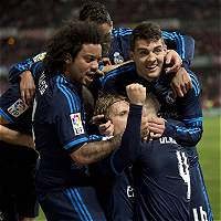 Modric y Carvajal volvieron a entrenarse con el Real Madrid