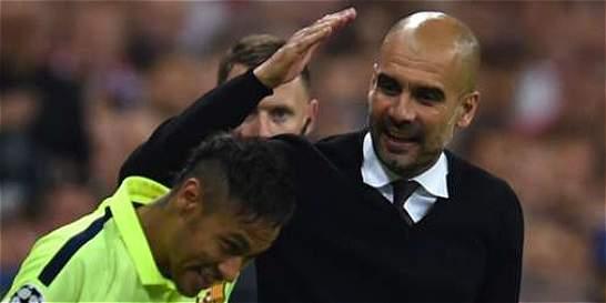 'Me gustaría trabajar con Guardiola': Neymar