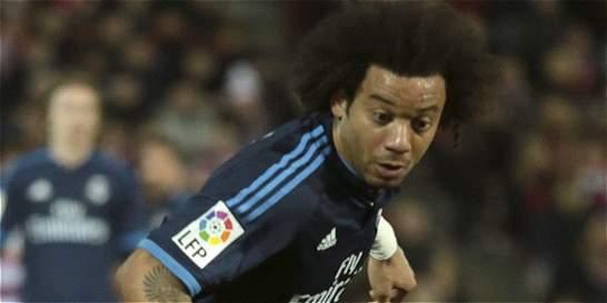 Marcelo sufre una luxación acromioclavicular en el hombro derecho