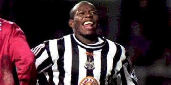 Newcastle recuerda debut del 'Tino' Asprilla con el club hace 20 años
