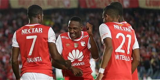 Santa Fe goleó 3-0 a O. Petrolero y está en grupos de la Libertadores