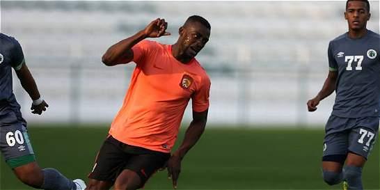 Jackson debutó con el Guangzhou y marcó gol