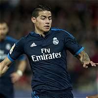 James será titular por cuarta vez consecutiva con el Real Madrid