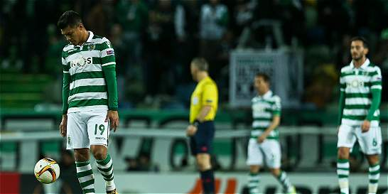 Sporting de Portugal, con 'Teo' Gutiérrez, perdió 0-1 con Leverkusen