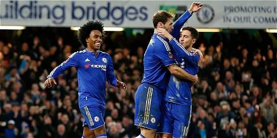 Chelsea esta en cuartos de la FA Cup: goleó 5-1 al Manchester City
