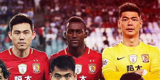 Tercer partido consecutivo de Jackson sin anotar con el Guangzhou