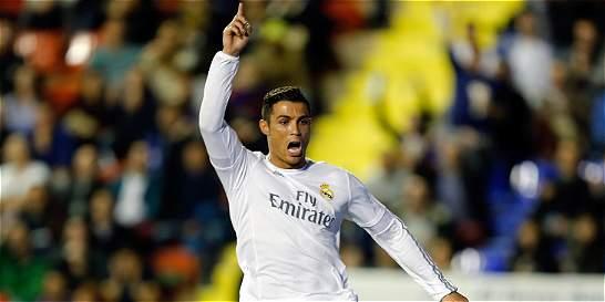 Real Madrid se tomó un respiro en la Liga: venció 1-3 a Levante