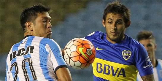 Boca empata con Racing en el estreno de Barros Schelotto como técnico