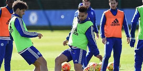 Falcao García ya está entrenando con el Chelsea