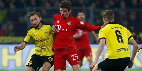 Dortmund y Bayern Múnich no se hicieron daño: empate 0-0