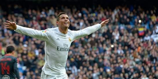 Cristiano se convirtió en el segundo goleador histórico de la Liga