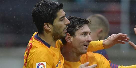 Messi, Neymar y Suárez llegaron a los 100 goles esta temporada
