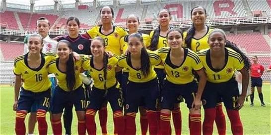 La Sub-17 femenina de Colombia cayó 1-0 con Uruguay en el Suramericano