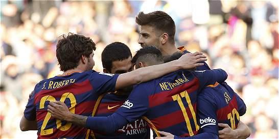 Barcelona vapuleó 6-0 a Getafe y se acerca más al título de la Liga