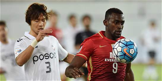 Jackson, asistencia en el 2-2 de Guangzhou frente a Urawa Reds
