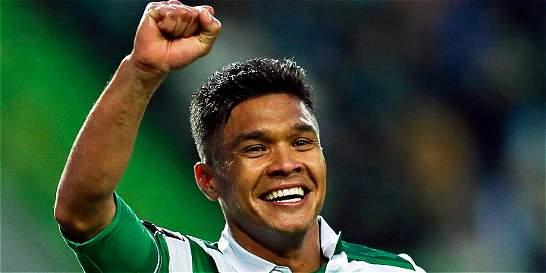 'Teo' Gutiérrez anotó doblete en la victoria de Sporting sobre Arouca